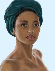 Black African Queen