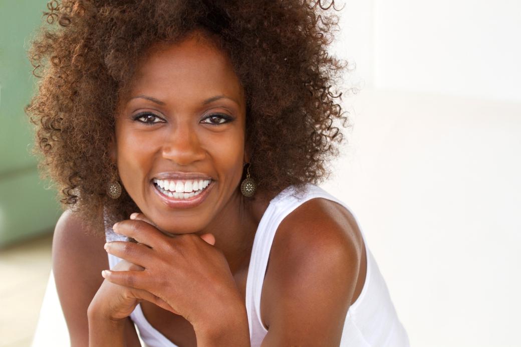 Happy Black Woman 1