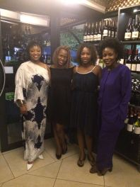 The girls spoilt me to an amazing dinner at one of my favourite restaurants - Kream.