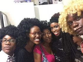 Just some of the banging afros on the night!