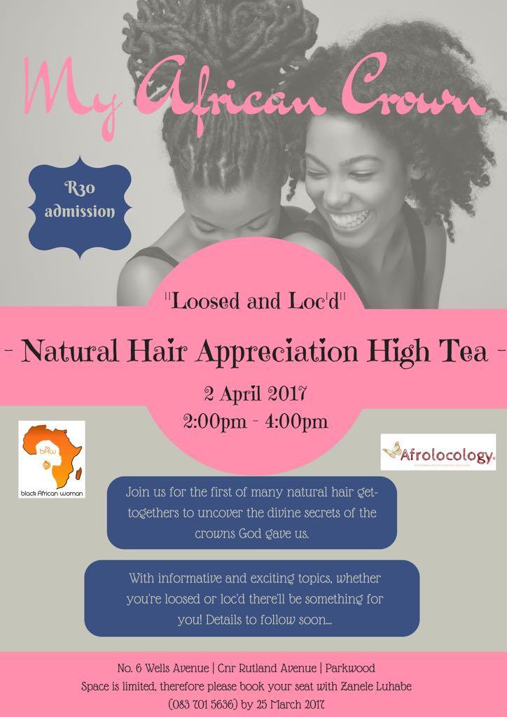 Natural Hair Appreciation High Tea