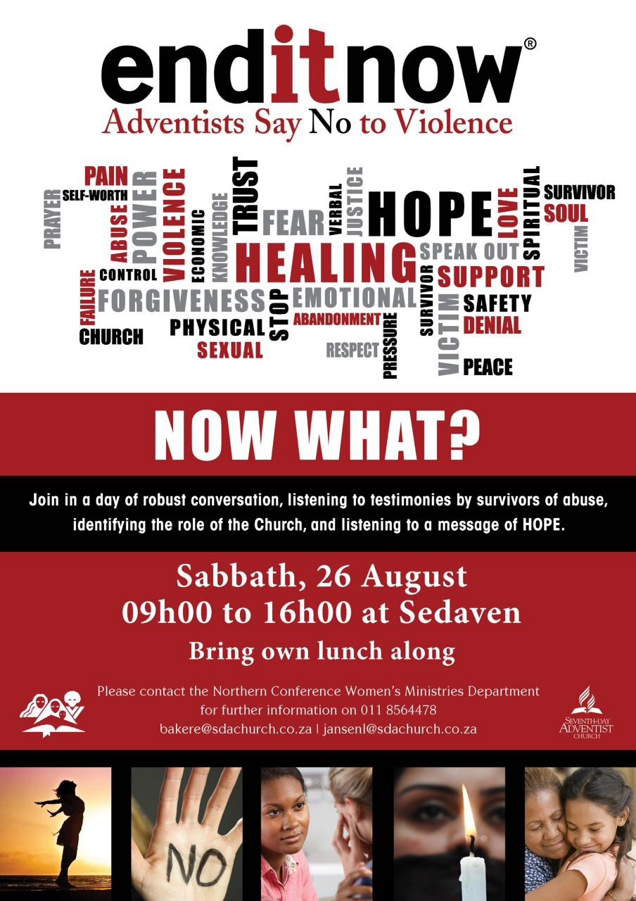 End It Now - 26 August Poster