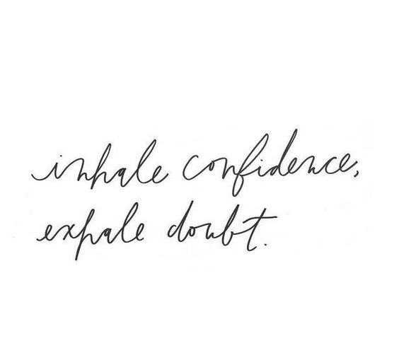 Resilience and Confidence