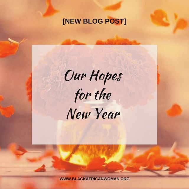 Our Hopes For 2018