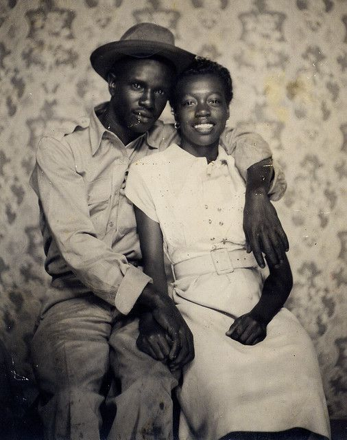 Black African couple