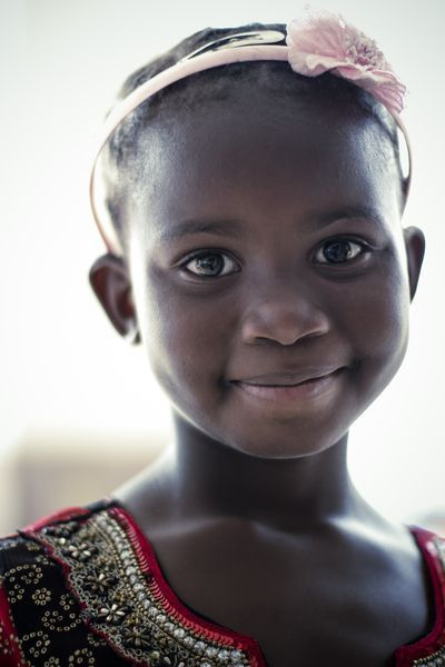 Little African girl