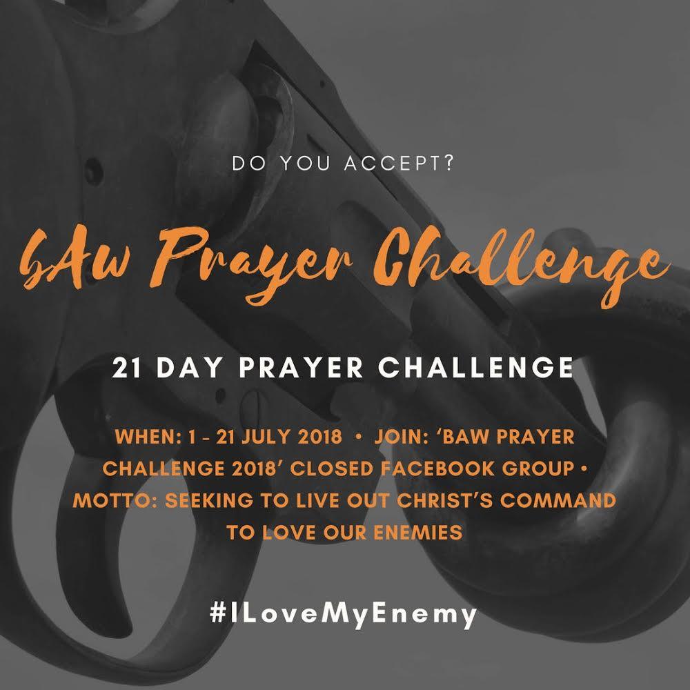 Prayer Challenge Poster