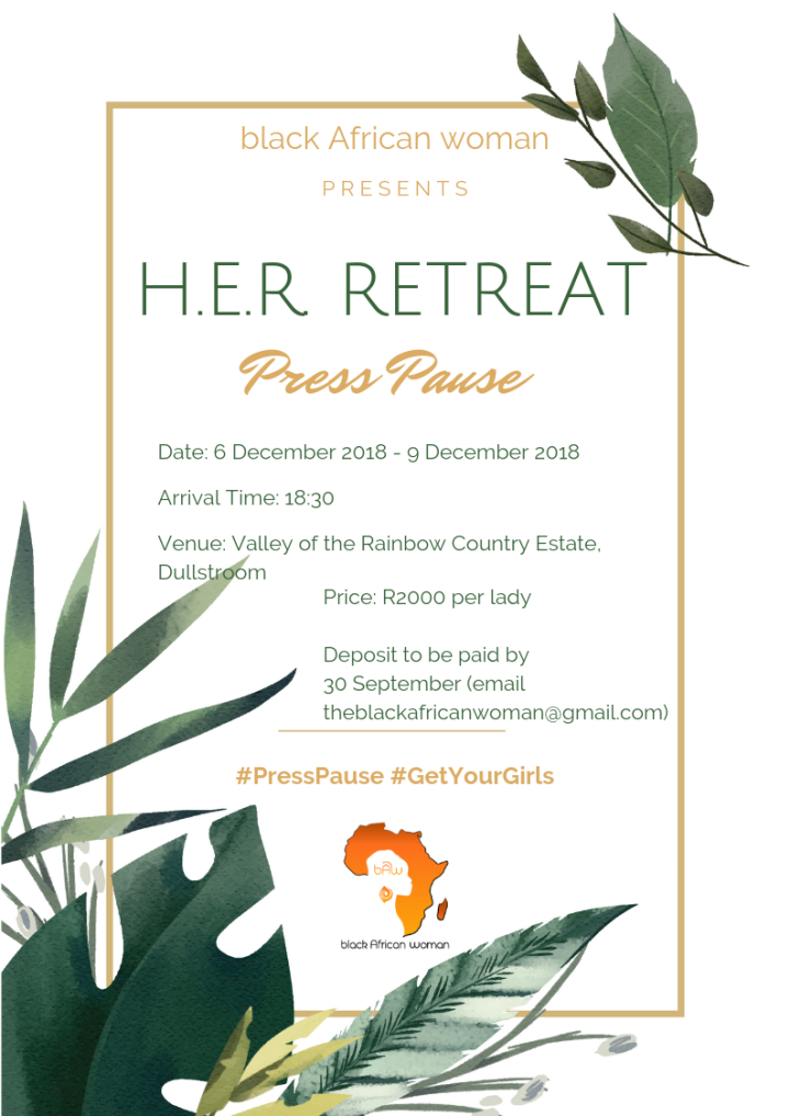 HER RETREAT Detailed Poster
